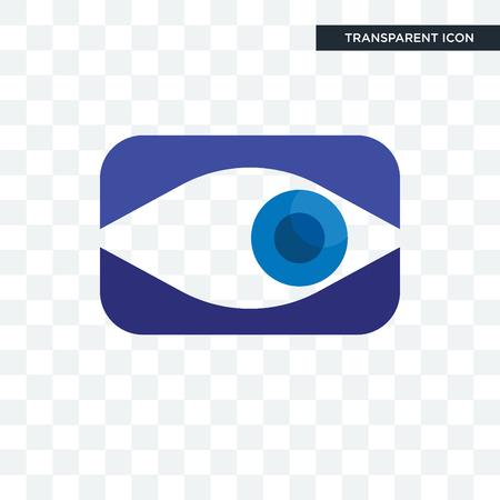 neighborhood watch vector icon isolated on transparent background, neighborhood watch logo concept Illustration
