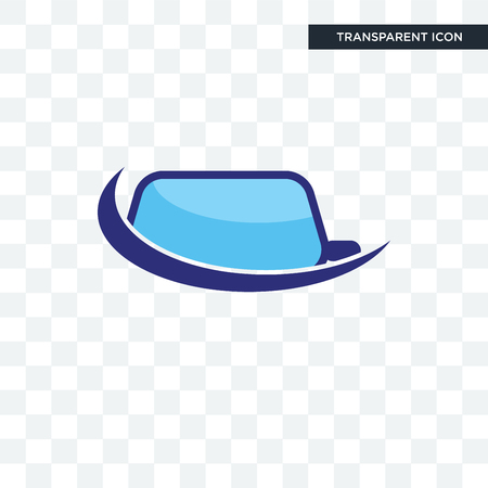 auto glass vector icon isolated on transparent background, auto glass logo concept