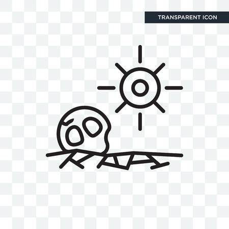 Drought vector icon isolated on transparent background, Drought logo concept Фото со стока - 108056864
