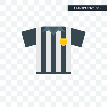 Referee vector icon isolated on transparent background, Referee logo concept