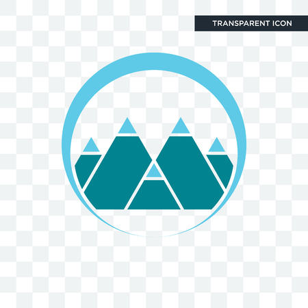 mont vector icon isolated on transparent background, mont logo concept