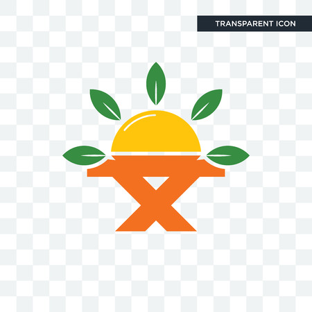 farm to table vector icon isolated on transparent background, farm to table logo concept