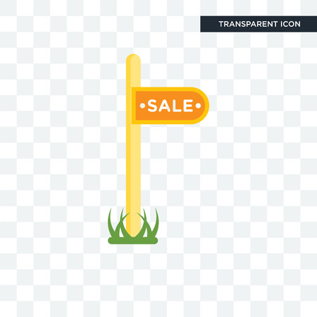 Sale vector icon isolated on transparent background, Sale logo concept