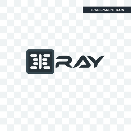 xray vector icon isolated on transparent background, xray logo concept