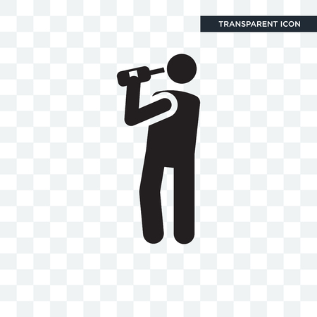 Drinking vector icon isolated on transparent background, Drinking logo concept