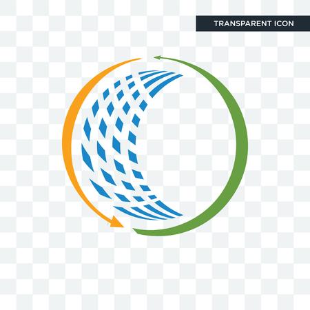 allgemeines Handelsvektorsymbol lokalisiert auf transparentem Hintergrund, allgemeines Handelslogo-Konzept