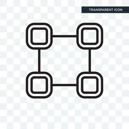 Selectie vector pictogram geïsoleerd op transparante achtergrond, selectie logo concept