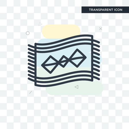 Rug vector icon isolated on transparent background, Rug logo concept