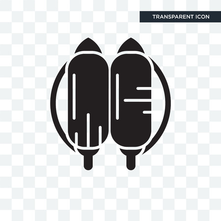 Jetpack vector icon isolated on transparent background, Jetpack logo concept