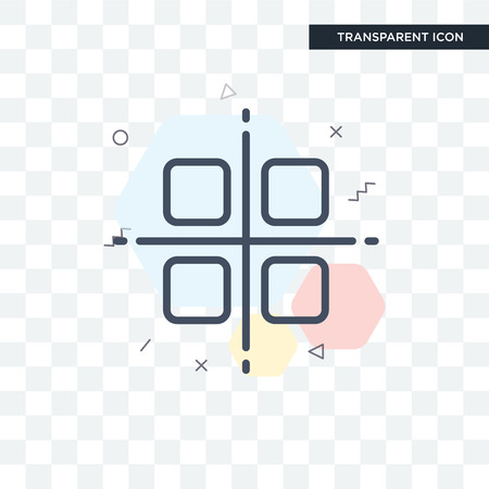 Select all vector icon isolated on transparent background, Select all logo concept