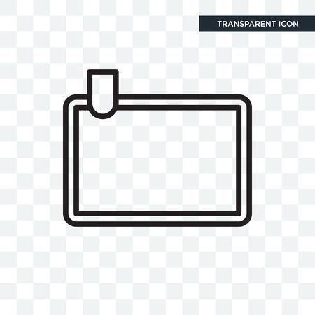 Break vector icon isolated on transparent background, Break logo concept Vectores
