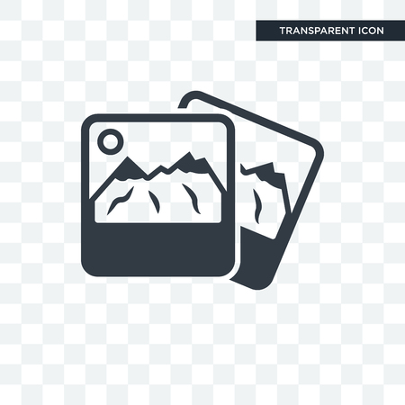 Photography vector icon isolated on transparent background, Photography logo concept