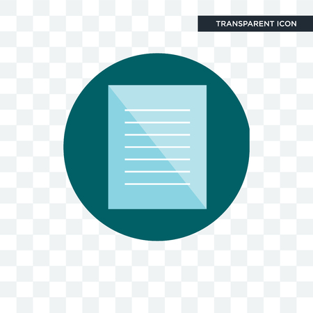 specification vector icon isolated on transparent background, specification logo concept