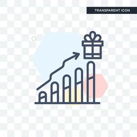 Incentive vector icon isolated on transparent background, Incentive logo concept