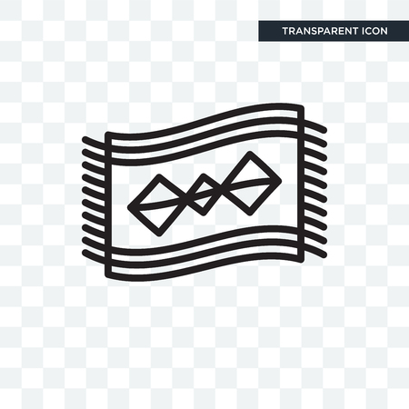 Rug vector icon isolated on transparent background, Rug logo concept Illustration