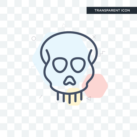 Anthropology vector icon isolated on transparent background, Anthropology logo concept