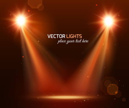 spot: Abstract disco background with spot lights and bright rays.