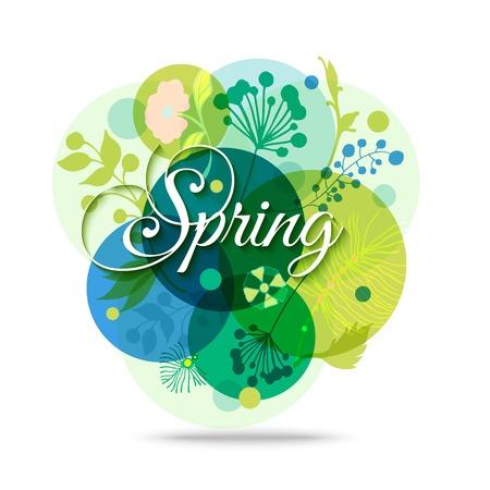 armonía: Fondo abstracto colorido de la flor. Primavera floral fondo transparente. Humor de primavera. Primavera Haze. Fondo de la primavera. Antecedentes vector Naturaleza.