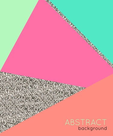 80s: Abstact background in retro 80s style. Vector illustration. Illustration