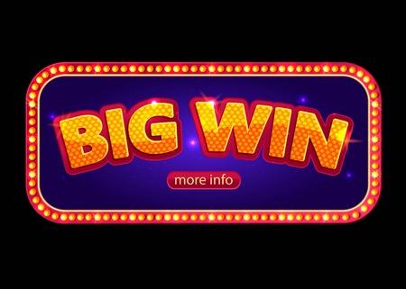 tragamonedas: Bandera grande de victorias para el casino en línea, poker, ruleta, máquinas tragamonedas, juegos de cartas.