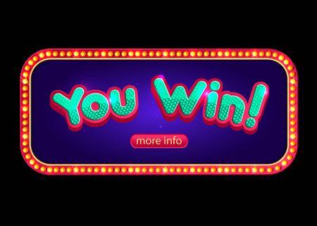 slot machines: Usted gana la bandera para el casino en línea, poker, ruleta, máquinas tragamonedas, juegos de cartas.