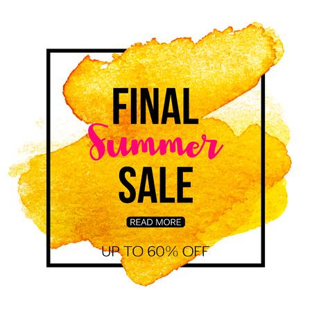 tally: Final summer sale banner template.