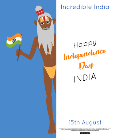 India independence day poster Illustration