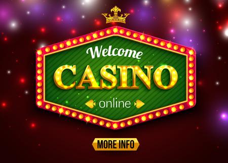 ardour: Online casino background for poster, flyer, billboard, web sites, gambling club.