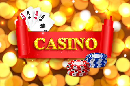 specie: Online casino background for poster, flyer, billboard, web sites, gambling club.