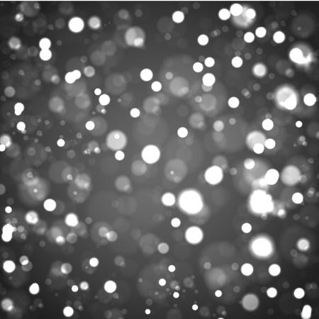 Vector Christmas boke background. Vector illustration eps 10
