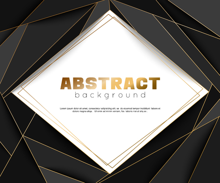Abstract luxury geometric  for cards, invitations.