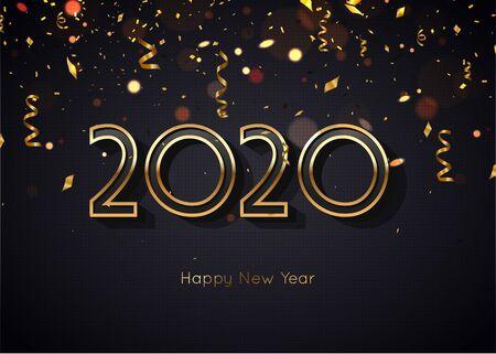2020 Happy New Year Elegant