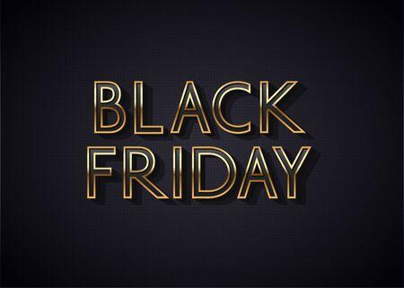 Black Friday Sale Banner or Poster design.