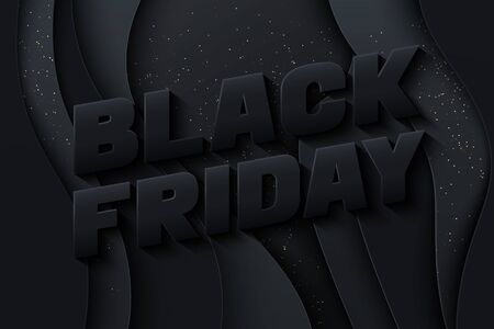 Black Friday poster template.