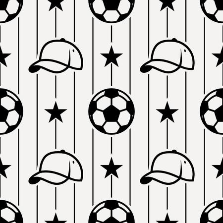 seamless: Soccer sport seamless pattern