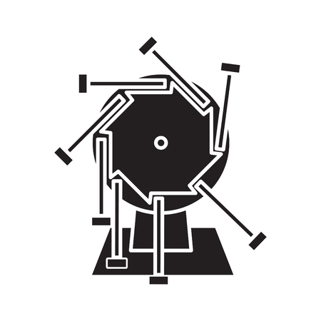 perpetual motion, vector illustration Illustration