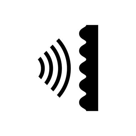 Soundproof icon Иллюстрация
