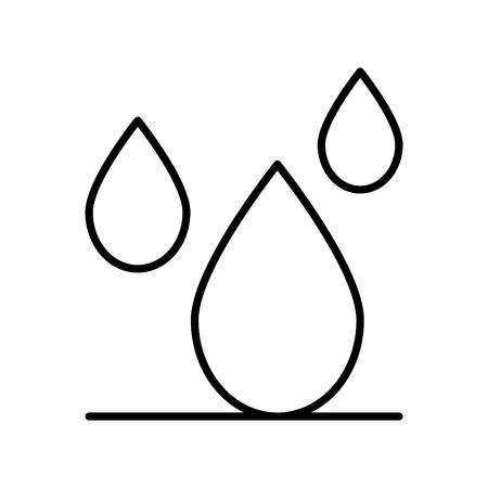 waterproof, vector illustration Ilustração