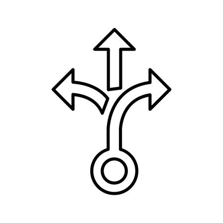 Icône de fractionnement