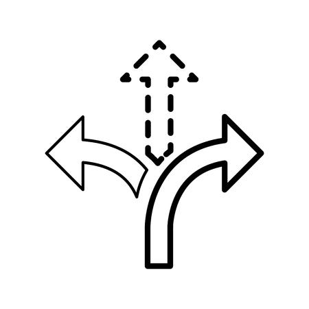 Flexibltiy icon, vector illustration Ilustração