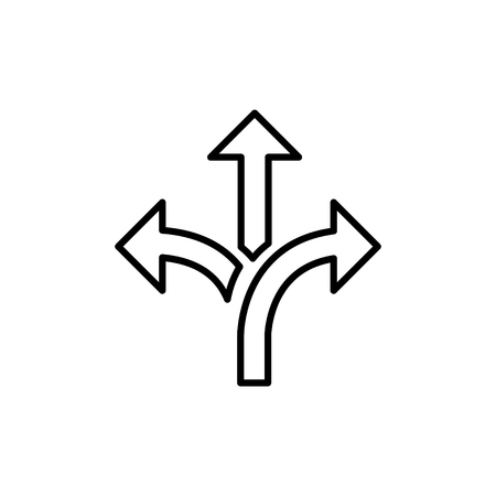 Flexibilitätssymbol, Vektorillustration Vektorgrafik