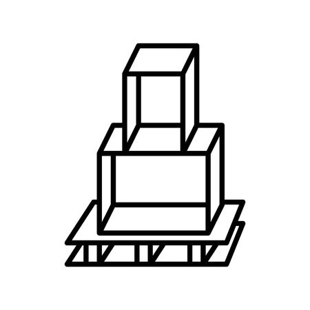 display icon, vector illustration