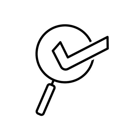 Usability icon, vector illustration