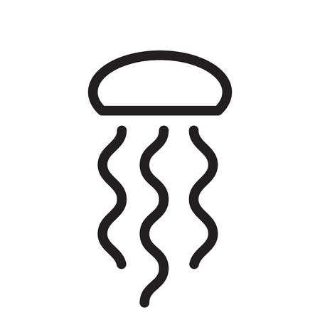 jellyfish warning icon