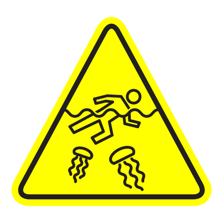 jellyfish warning icon