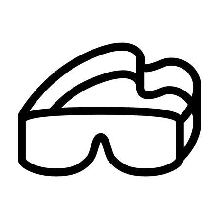 Protection eye icon Ilustrace