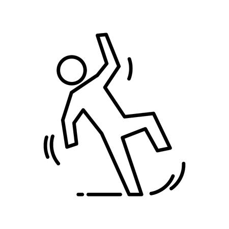 slip icon, vector illustration