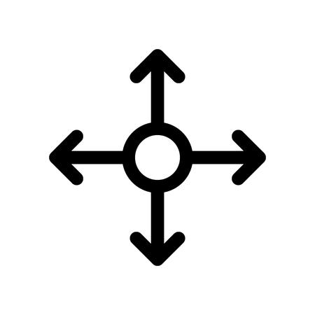 Multi channel icon, vector illustration