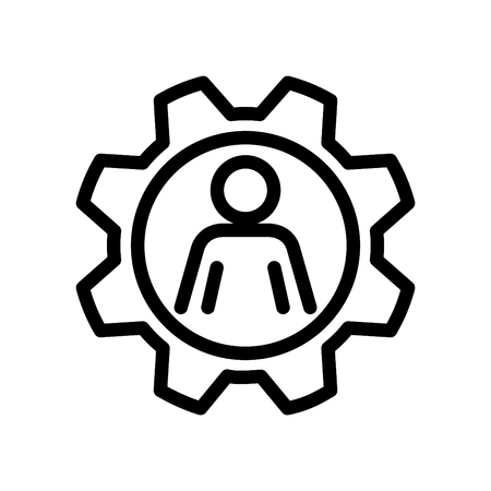 Skills icon, vector illustration