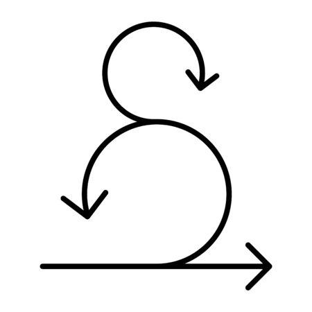 Scrum icon, Agile icon, vector Illustration